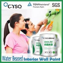 wholesale economic acrylic decorative design emulsion interior wall paint for interior walls