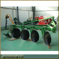 farming machine one way disc plough for tractors
