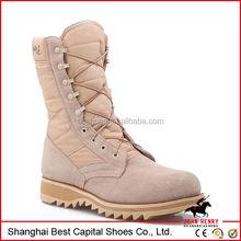 Good design rubber outsole cheap military desert boots for men