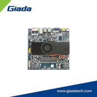 Thin Mini-ITX 4GB DDR3 memory onboard Giada MI-D2550GT motherboard with onboard cpu