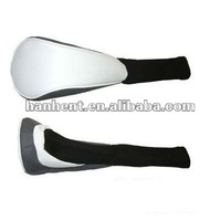 Magnetic closure golf head cover