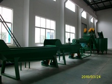 2000 kg/hr PET Flakes Recycling Washing Machine