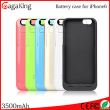 """New power bank For iphone battery case 3500MAH External battery For iphone 6 4.7"""" Wireless power bank Battery power bank"""