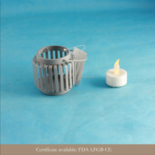 2015 new design mini small metal candle holders