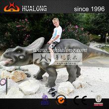 Cheap Custom latest hot children playground rides of simulation dinosaur