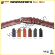 18mm handmade genuine leather strap for watch in various color