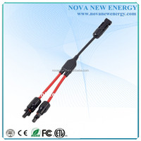 Solar Y Branch connector Cable leads for PV Solar system