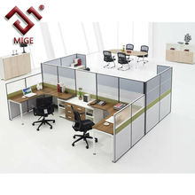 Modern High Wall Office Cubicle Design