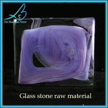 HOT NEW PRODUCT glass uncut rough gemstones wholesale blocks glass