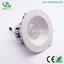 2014 High quality Recessed LED Down Light Adjustable with CE ROHS