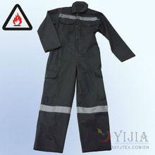 Antiestática y resistente a la llama chaqueta impermeable ignífuga ropa de trabajo
