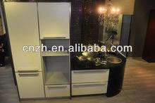 la cocina abierta uv diseño moderno gabinete de la cocina del gabinete