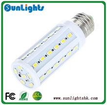 8W warm white /pure white E27 5730SMD led corn bulb led lamp 360 degree led corn light