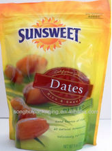 Pitted date packing bag/Plastic date bag/Snack pouch