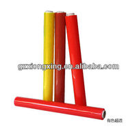 Transparent yellow, red and other different color pvc film