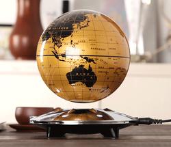 Gold supplier magnetic material magnet floating globe