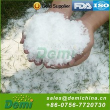 2015 Popular Magic Christmas Safety Expanding Fake Snow For Indoor Decoration