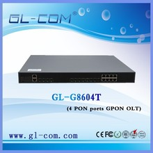 OEM fast delivery 4 PON GPON network optical line terminal