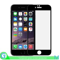 Colorful tempered glass screen protector for iphone 6