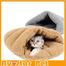 Grey/Brown S, M High Quality Slipper Cat Bed Pet Cage Kennel House for Dogs