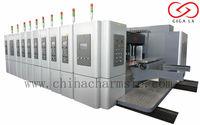 GIGA LX 707 Corrugated Flexo Printing Green Paper Packaging Printer Machine