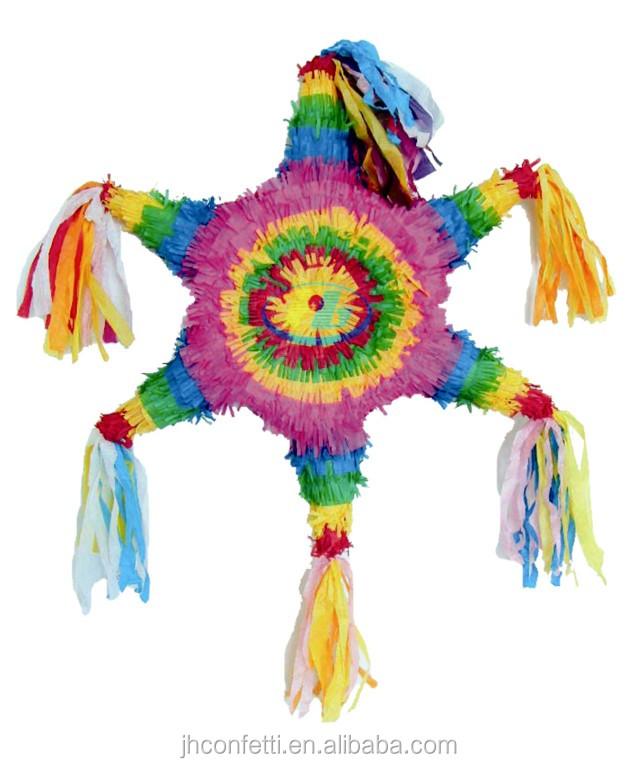 Фантазии мексиканской pinata для детского праздника