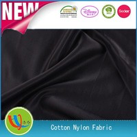 2014/2015 hot shaoxing China nylon/cotton mixture fabric textile for domestic ladies garment