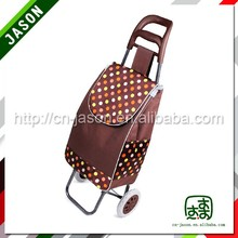 high quality luggage cart 2015 new shopping basket with 4 wheels