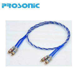 High Quality RCA INTERCONNECTS Car Audio Video RCA cable B26