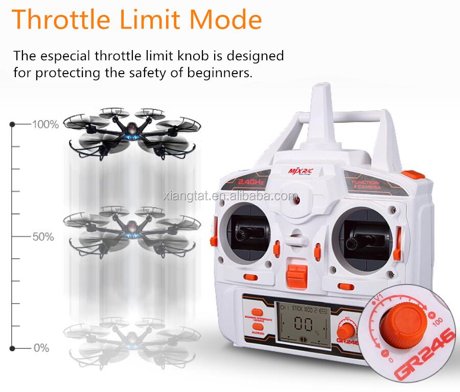 MJX X600 X-SERIES 2.4G 6 axis Headless Mode RC Hexacopter Drone Quadcopter RTF