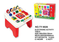 top 2013 hot sell electronic ativity table abs material electronic toys for children