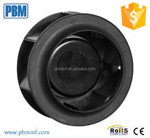 133mm Ec Centrifugal free cooling system fan