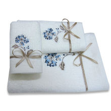 100% cotton 11*18 inch fingertip towels with Multi-Color