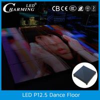 wholesale portable dance floor light led strip lighting decoration in christmas