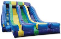 CE/UL EN14960 SGS SAA 2015 water games gaint inflatable dry & wet slide
