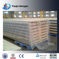 Foam sandwich panel PU sandwich exterior and interior wall panel