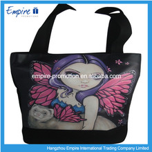 Cheap durable high quality wholesale non-woven fold tote bag