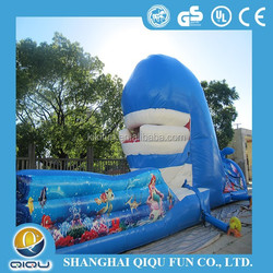 giant summer party water park water slide inflatable for sale