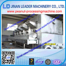 High capacity 500-600kg/h peanut roaster machine long service life simple operation with CE/ISO9001