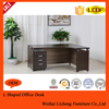 Melamine Particle board office table /office L shaped workstation