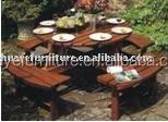 2015 leisure wooden outdoor furniture