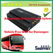 England free bus WIFI router entertainment product