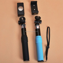 bluetooth selfie stick for iphone 5 6 6s android cell phone camera, selfie stick with bluetooth shutter button