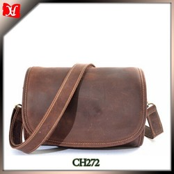 cheap wholesale small size real leather bag round bag