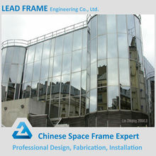 16-50mm Double Glazed Modern Point Supporting Glass Curtain Wall