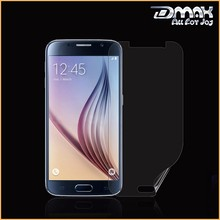 No.1 Manufacturer Clear Anti Fingerprint Mobile Screen Guard For Samsung Galaxy S6