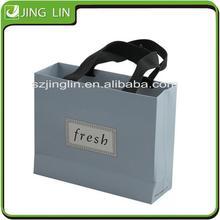 take away reusable shopping bag luxury paper shopping bag with Logo Wholesale
