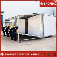 convenient to change building scaffolding systems