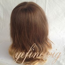 Wholesale High Quality European Human Hair Full Lace Wigs Company