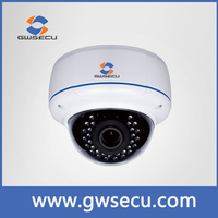 ONVIF 2.0 megapixel IP IR Dome Camera Varifocal lens 2.8-12mm Vandal-proof ip66 dome